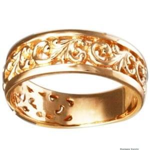 Золотые кольца - красота и элегантность
