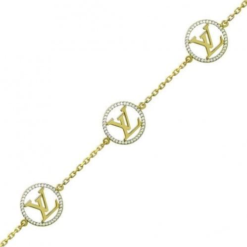 Браслет з лимонного золота з фіанітом БС1061Ли