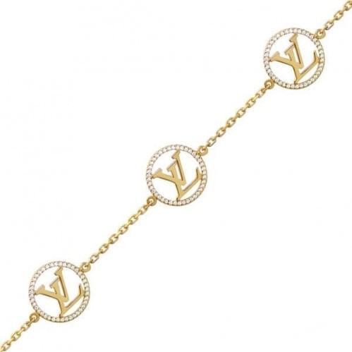 Золотой браслет с фианитом БС1061и