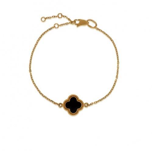 Золотой браслет с эмалью БС1206и