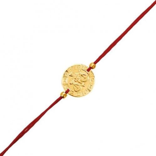Золотий браслет БС128и