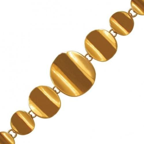 Золотий браслет БС178и