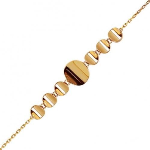 Золотой браслет БС178(3)и