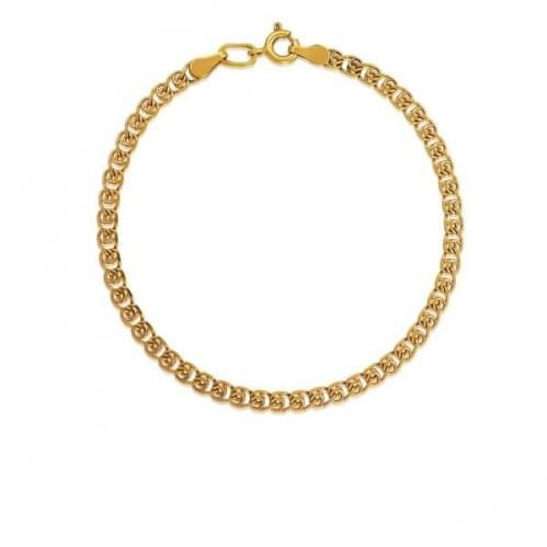 Золотий браслет БС250и