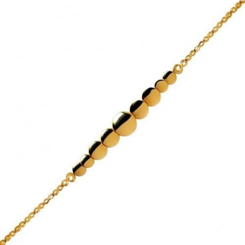 Золотой браслет БС328(2)и