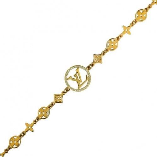 Золотий браслет з фіанітом БС793и
