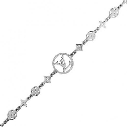 Срібний браслет з фіанітом БС793с