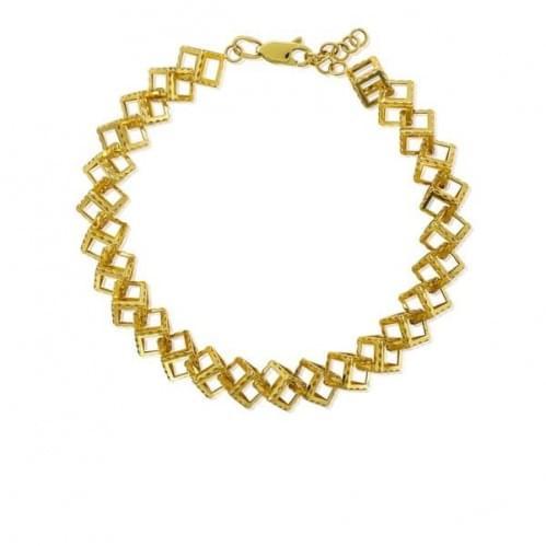 Браслет из лимонного золота БС801Ли