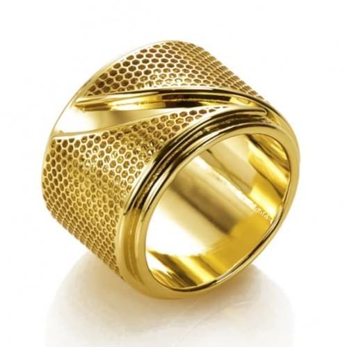 Каблучка з лимонного золота (Флорентіно - Collection Florentino) КБ0004Л