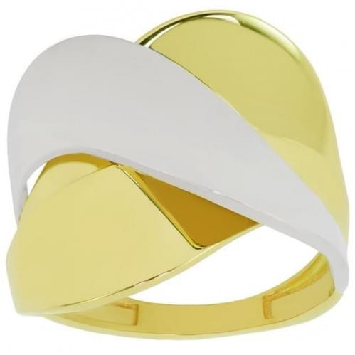 Каблучка з лимонного золота КБ024Ли