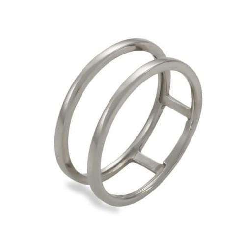 Кольцо из белого золота КБ1083Би