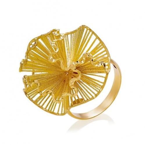 Каблучка з лимонного золота (Флорентіно - Collection Florentino) КБ1205Л(к)
