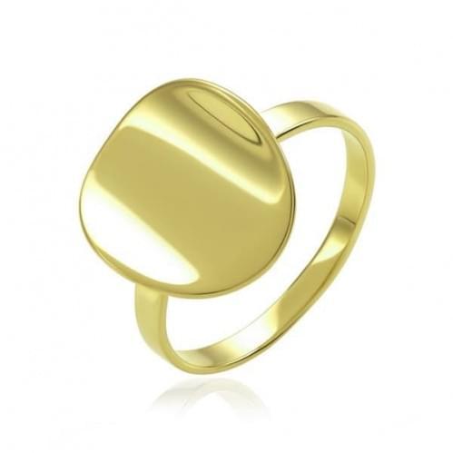 Каблучка з лимонного золота КБ312Ли