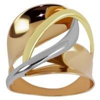 Кольцо золотое без вставки