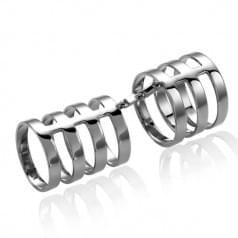 Кольцо из белого золота КБ434Би