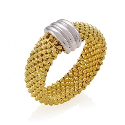 Кольцо комбинированное золото (Флорентино - Collection Florentino) КБ463Лк