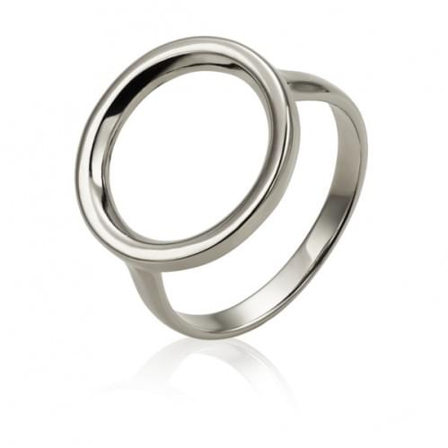 Серебряное кольцо КБ472с