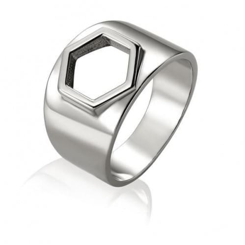 Серебряное кольцо КБ481с