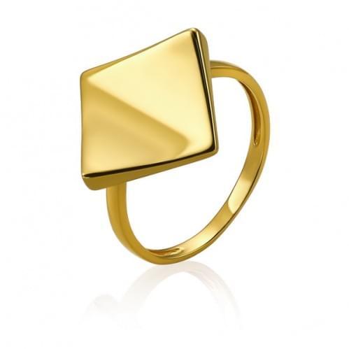 Каблучка з лимонного золота КБ779Ли