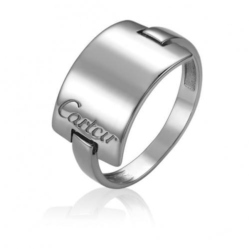 Кольцо из белого золота КБ810Би