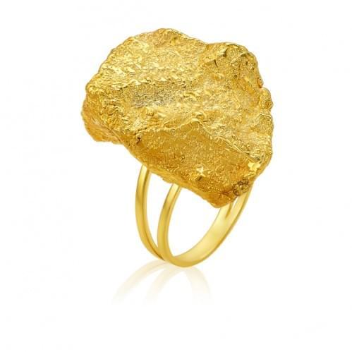 Кольцо из лимонного золота ( Флорентино - Collection Florentino ) КБ914Лк