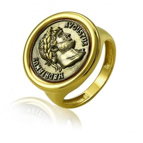 Кольцо из лимонного золота КБ915Лр