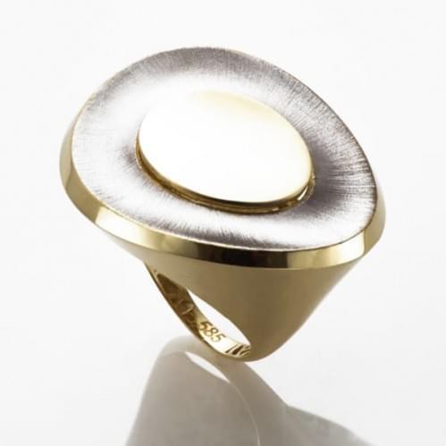 Кольцо из лимонного золота (Астарта - Collection Astarta) КБ951Лк