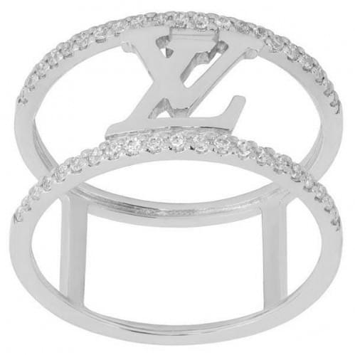 Серебряное кольцо с фианитом КВ1061(3)с