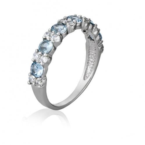 Серебряное кольцо с фианитом КВ1079.01с