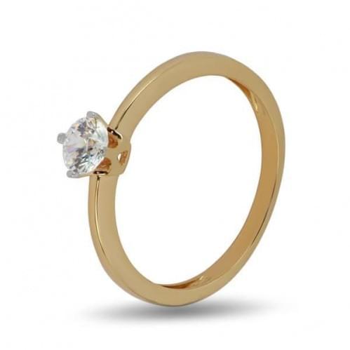 Золотое кольцо со вставкой КВ1131н
