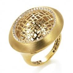 Кольцо из лимонного золота (Астарта - Collection Astarta)