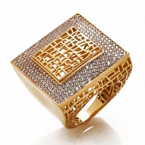 Золотое кольцо (Астарта - Collection Astarta) КВ1321к