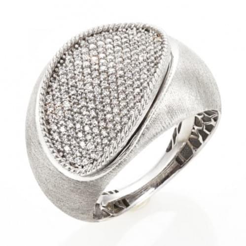 Кольцо из белого золота (Астарта - Collection Astarta) КВ1322Бк