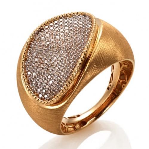 Кольцо из красного золота (Астарта - Collection Astarta)