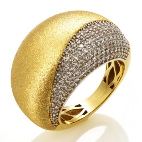 Кольцо из лимонного золота (Астарта - Collection Astarta) КВ1324Лк