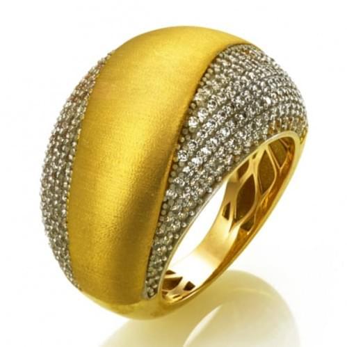 Кольцо из лимонного золота (Астарта - Collection Astarta) КВ1325Лк