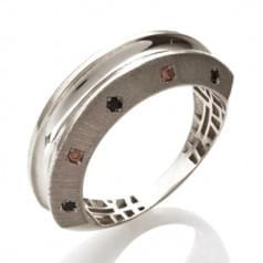 Кольцо из белого золота (Астарта - Collection Astarta) КВ1327Бк