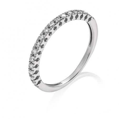 Кольцо из белого золота с бриллиантом КВ1372.00100Бн