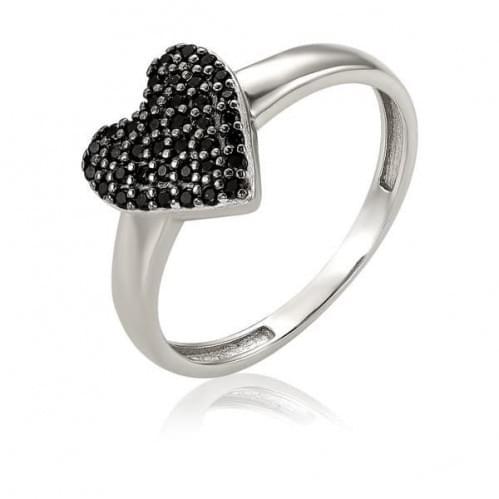 Серебряное кольцо с фианитом КВ1440.10с