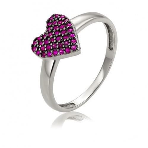 Серебряное кольцо с фианитом КВ1440.3с