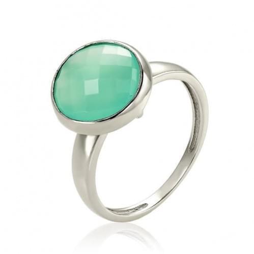 Серебряное кольцо с фианитом КВ1854.05с