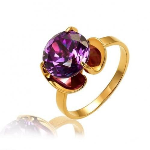 Золотое кольцо с сапфиром КВ552.10509н