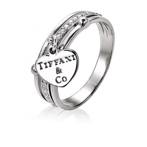 Серебряное кольцо с фианитом КВ646(4)с