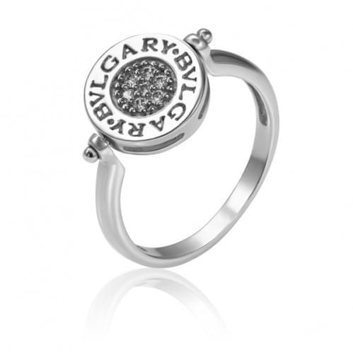 Серебряное кольцо с фианитом КВ672с