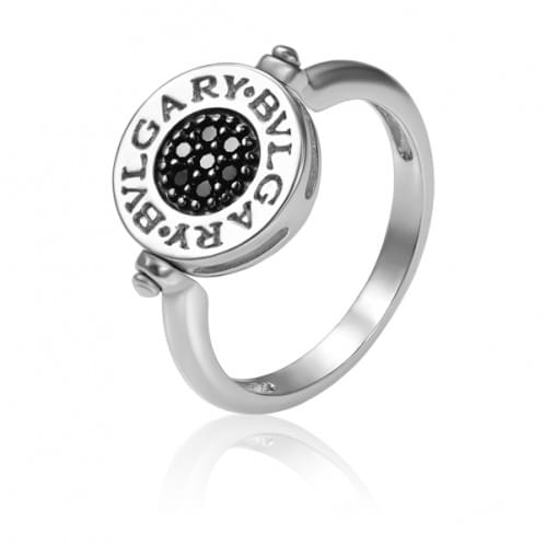 Серебряное кольцо с фианитом КВ672.10с