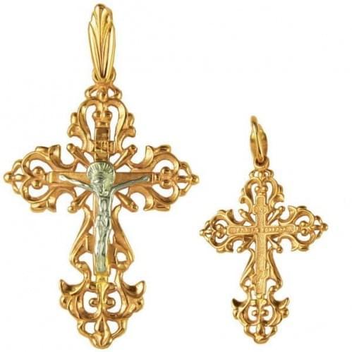 Золотий хрестик КР004и