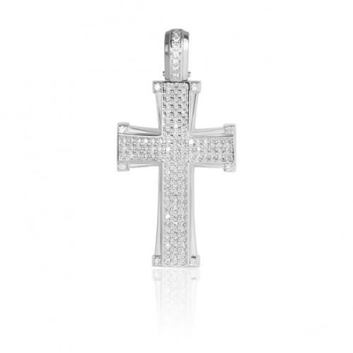 Срібний хрестик КР073с