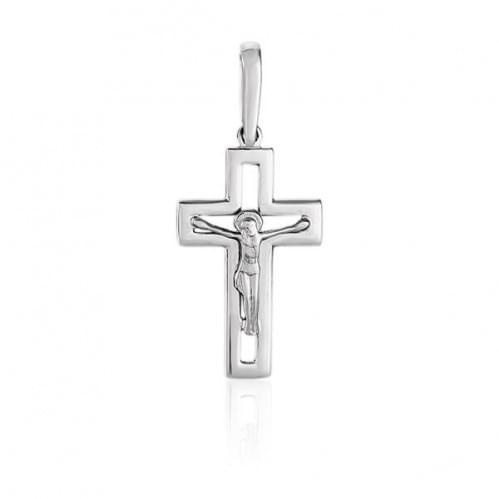 Срібний хрестик КР074с