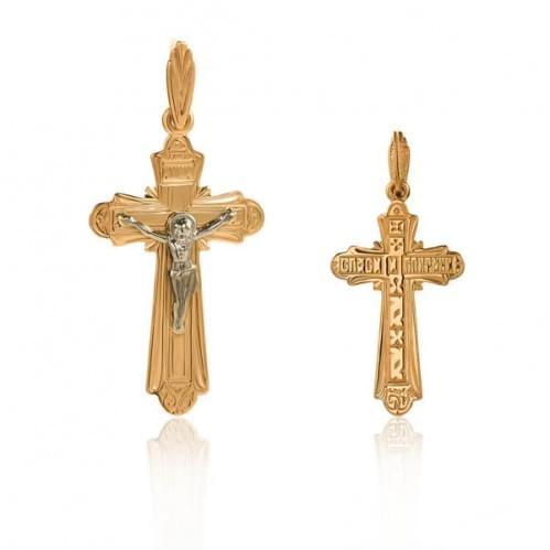 Золотий хрестик КР078и