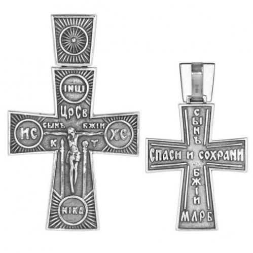 Срібний хрестик КР091с